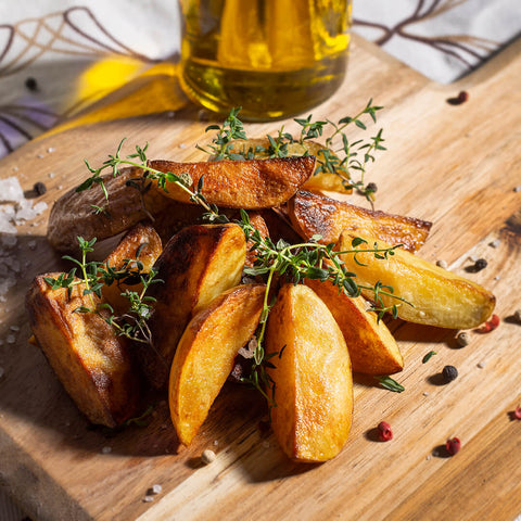 Plantui Thyme Herb Smart Garden Recipe Potatoes