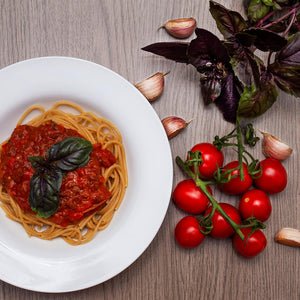 Basil Dark Herb Smart Garden Recipe Pasta