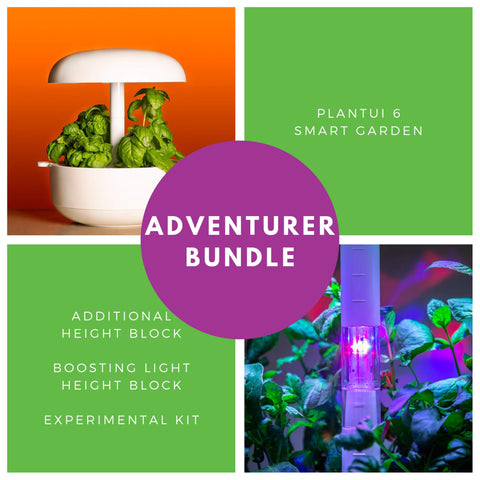 Plantui Smart Garden Adventurer Bundle Main