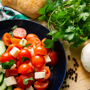 Plantui Flatleaf Parsley Herb Recipe Tomato Salad