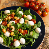 Plantui Garden Rocket Salad Recipe Mozzarella Chorizo Nuts
