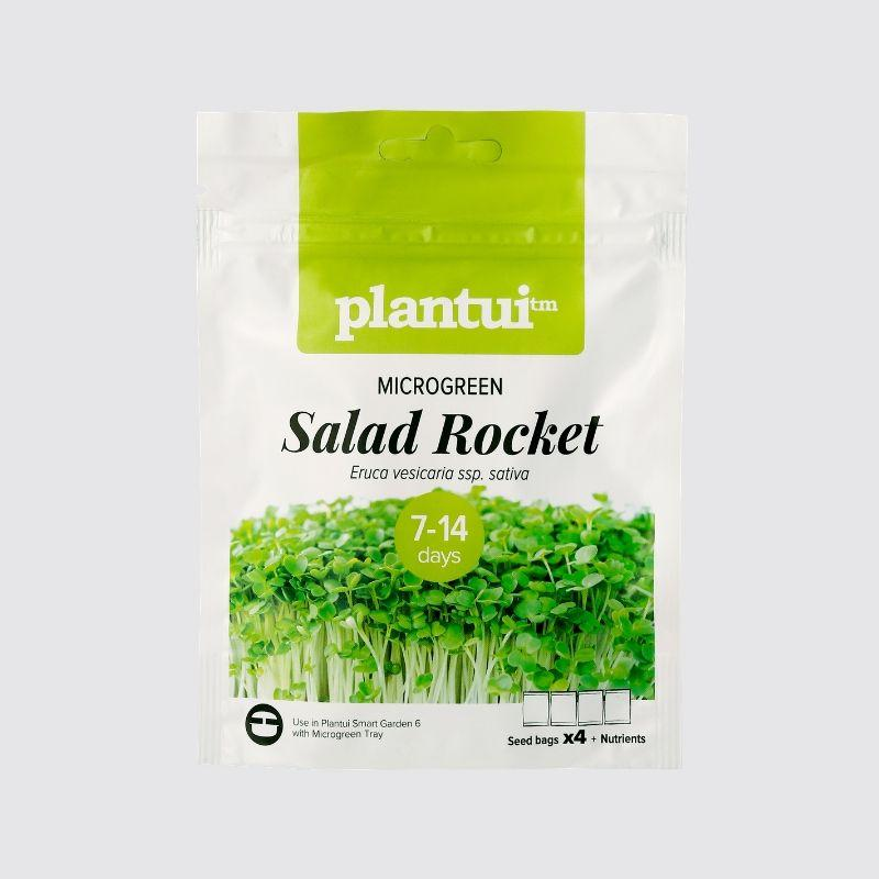Plantui Indoor Garden Microgreen Rocket Salad