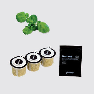 Plantui Indoor Garden Watercress Plant Capsule