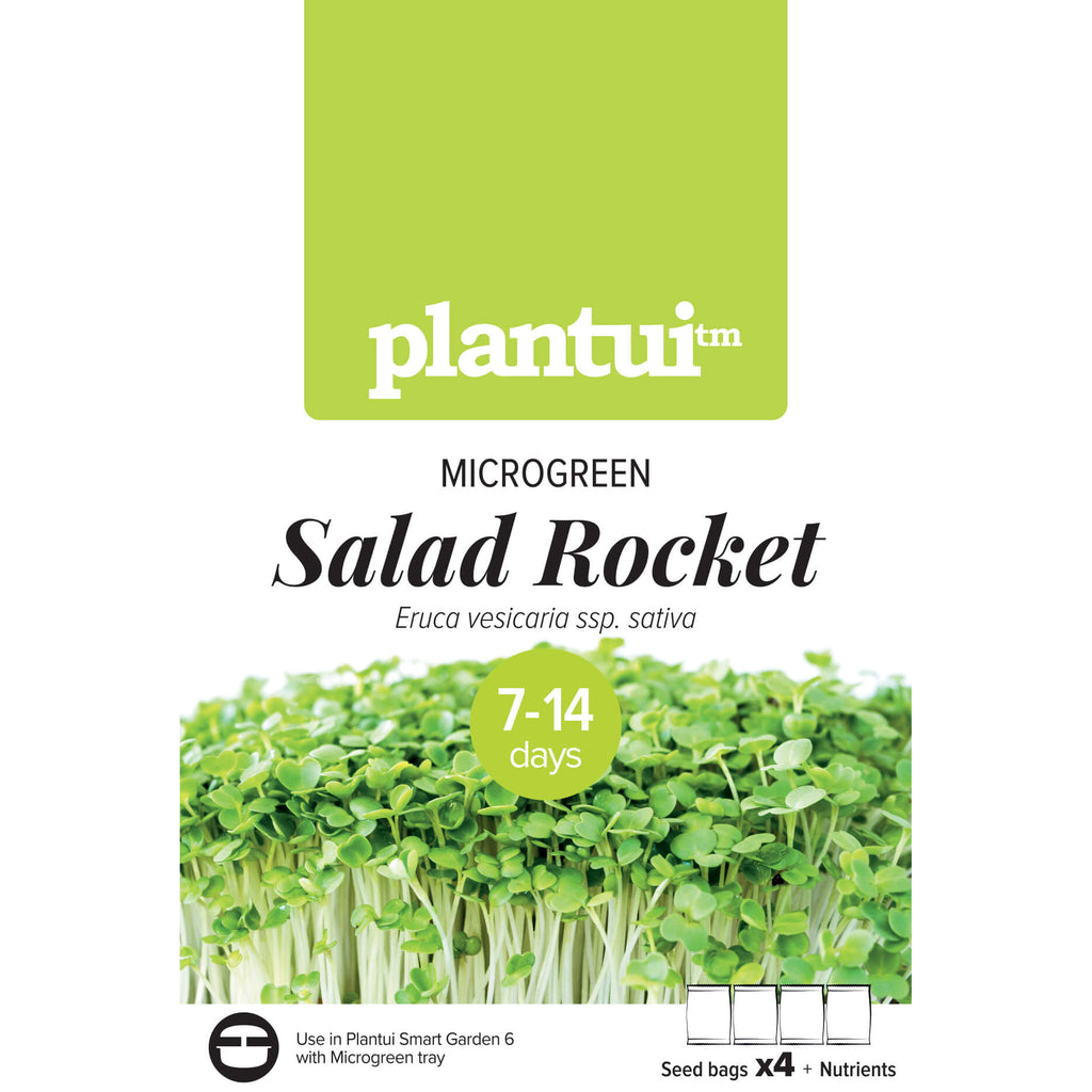 Plantui MICROGREEN Salad Rocket Packaging