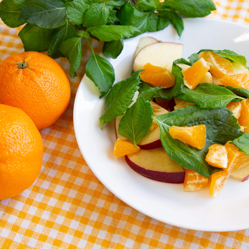 Plantui Shiso Salad Recipe Clementines
