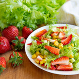 Plantui Sweet Blond Salad Recipe Strawberries