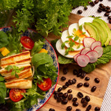 Mustard Wasabina Salad Smart Garden Recipe Breakfast