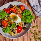 Mustard Wasabina Salad Smart Garden Recipe Pesto