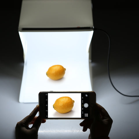 Portable Photography Studio with LED Light