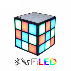LED Mini Magic Cube Bluetooth Speaker