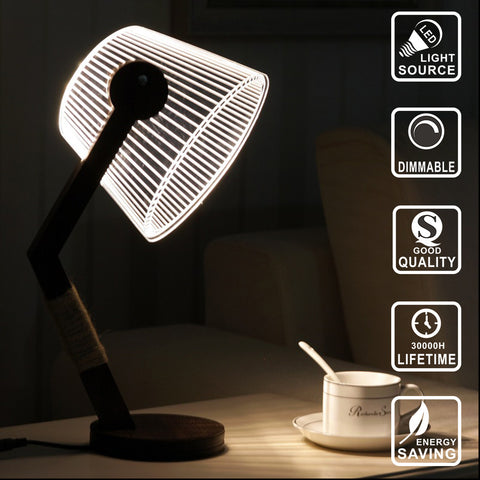 NEW 3D LED Desk Lamp
