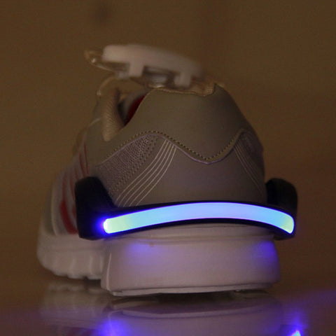 LED Luminous Shoe Clip for Runners and Bikers