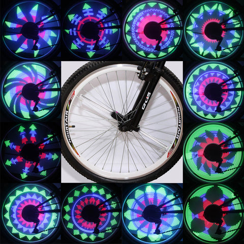 Bike Spokes Led Light.