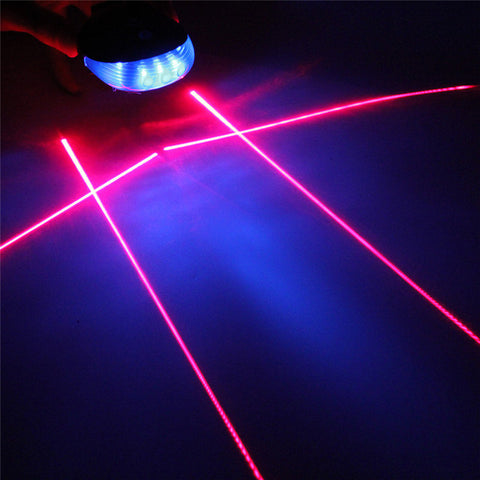 Bicycle Laser Beam + LED Tail Lights