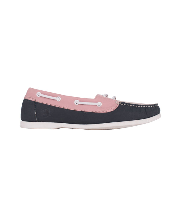 Deck Shoe Blue & Pink