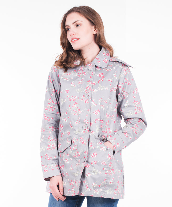 Bird Blossom Button Up Mac