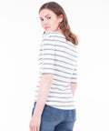 Harbour Stripe 3/4 Sleeve Tee