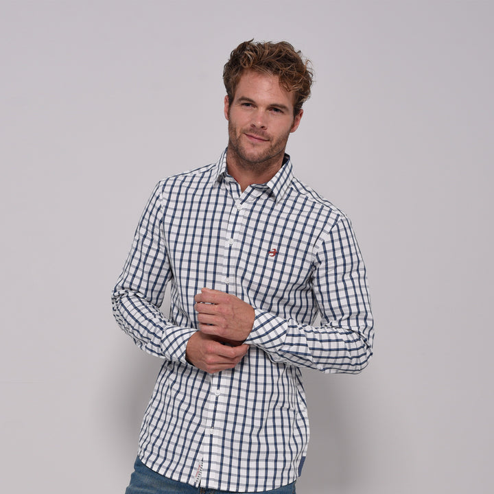 Shadow Check Long Sleeve Shirt