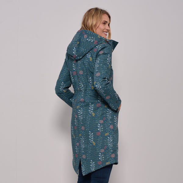 Insulated Printed Parka