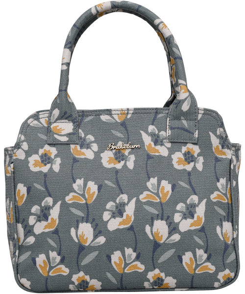 Large Floral Bowling Bag