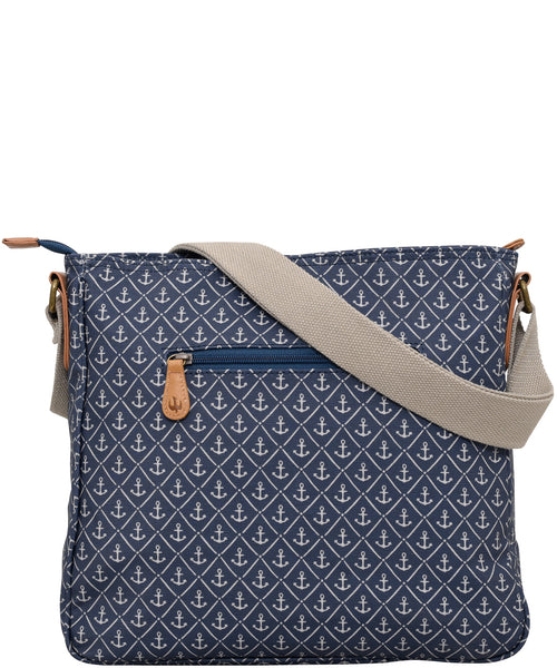 Anchors Large Saddle Bag