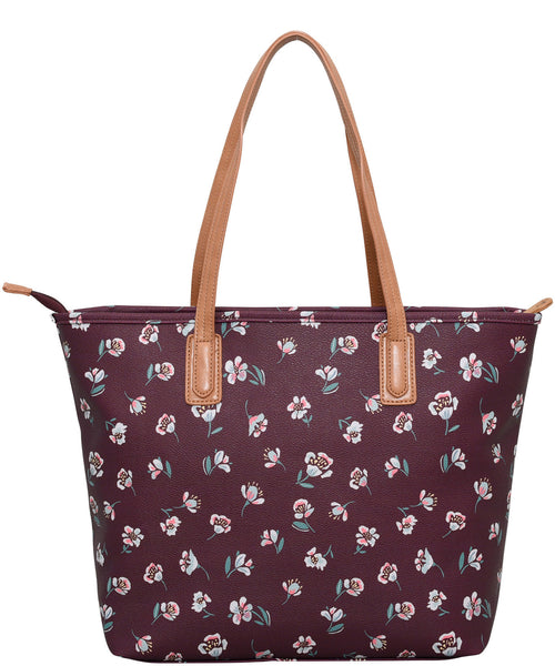 Floating Floral Tote