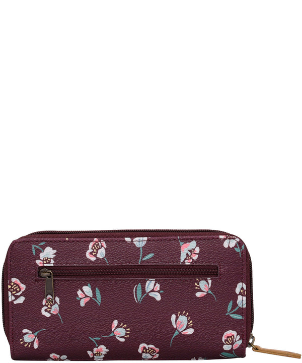 Floating Floral Purse