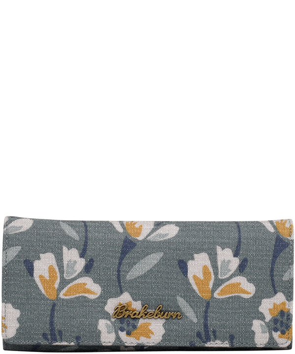 Large Floral Fold Over Purse