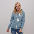Applique Zip Hoody