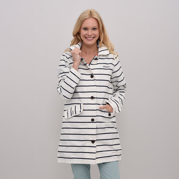 Harbour Stripe Parka