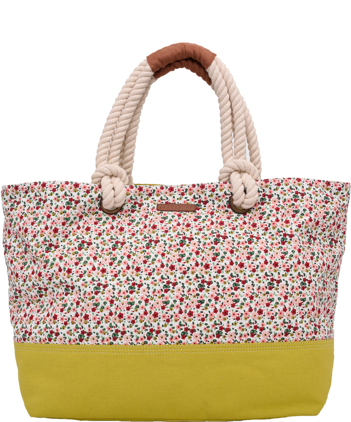 Ditsy Print Beach Bag