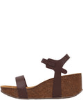 Wedge Sandal Brown
