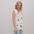 Swallows Applique Tee