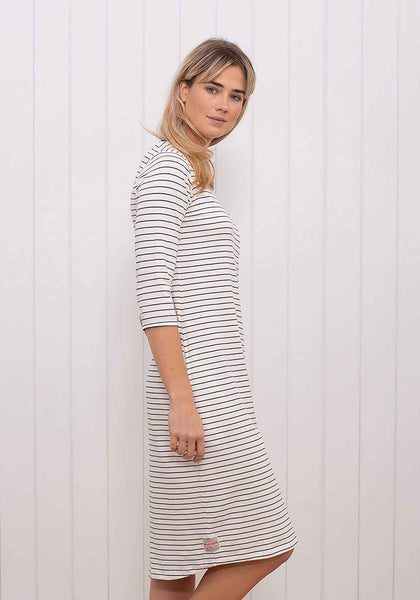Stripe Jersey T-shirt Dress