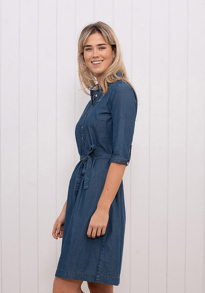 Denim Work Dress