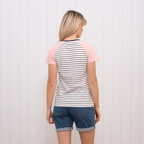 Stripe Raglan T-shirt