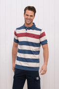 Block Stripe Polo