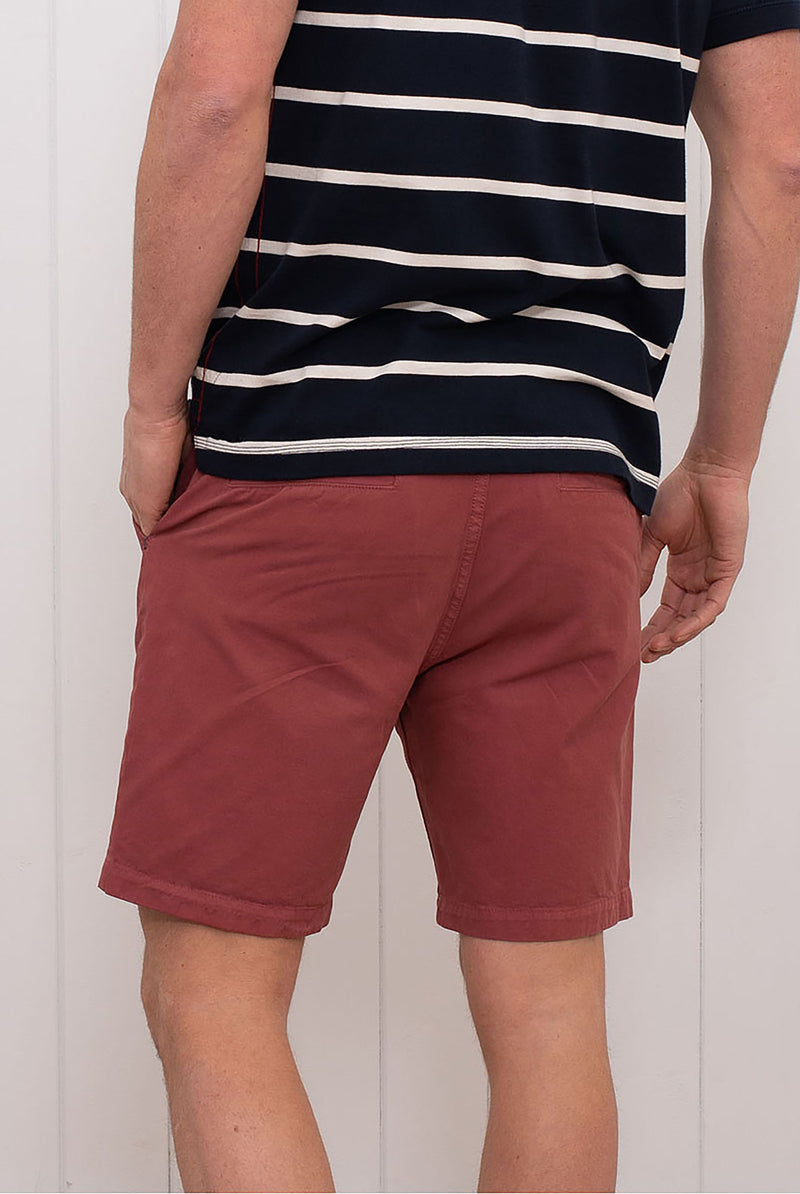 Chino Shorts Washed Red