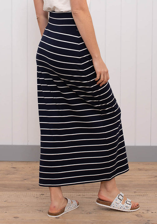 Stripe Maxi Skirt