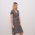 Aster Daisy Wrap Dress