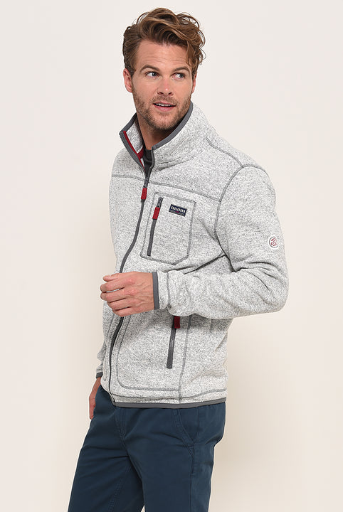 Zip Through Fleece