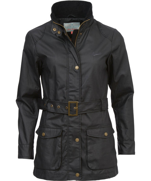 Coated Jacket Black