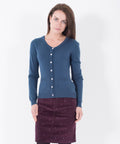Pocket Cardigan Navy