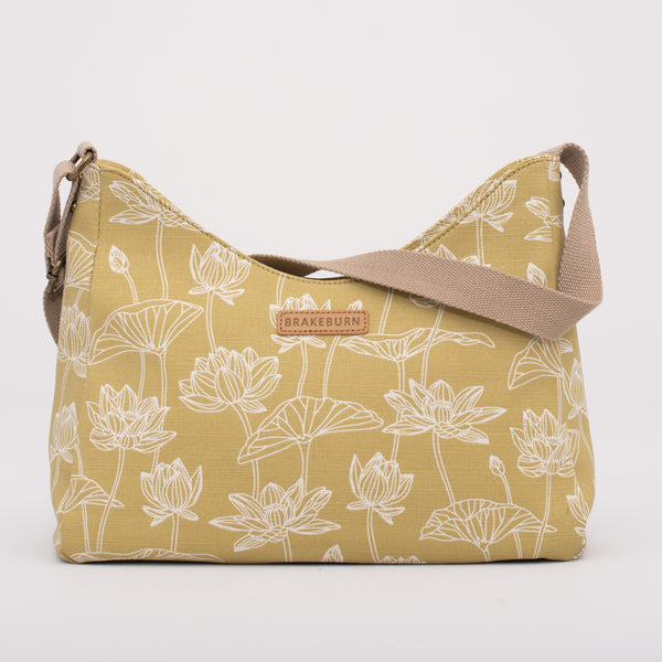 Lotus Hobo Bag
