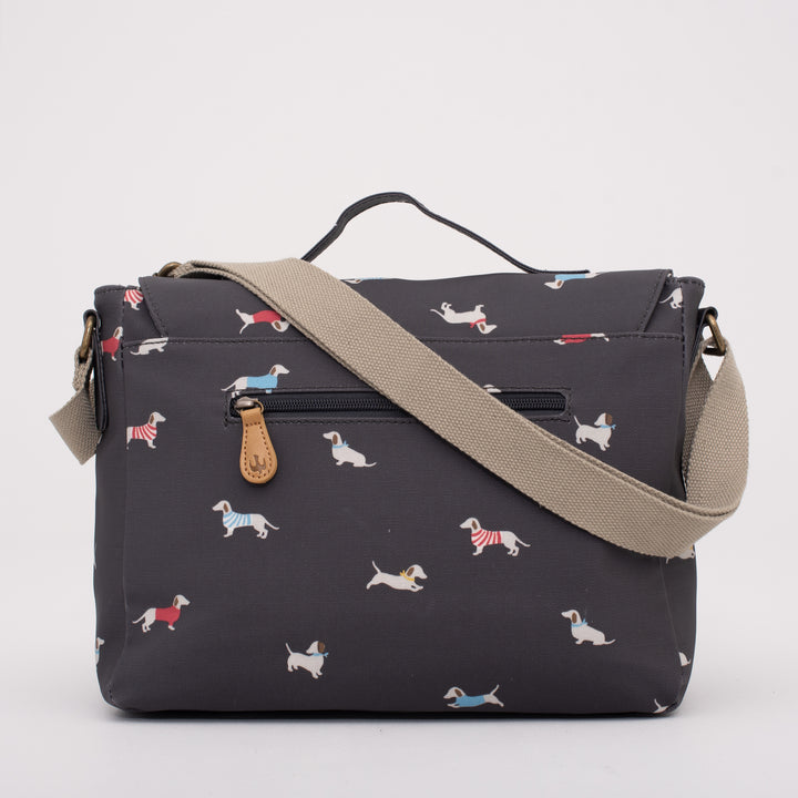 Sausage Dog Satchel Bag