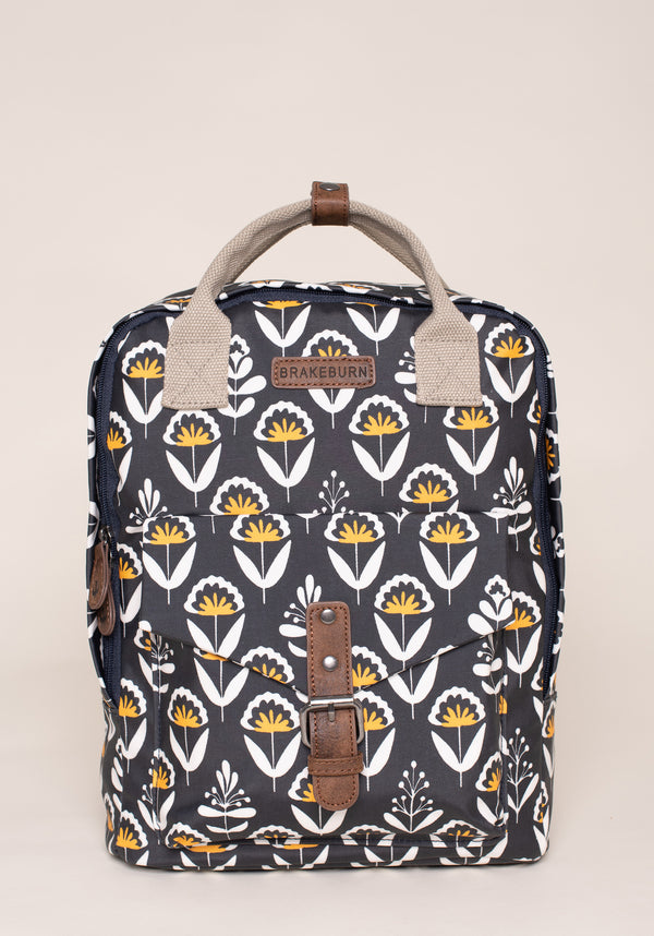 Geo Floral Backpack