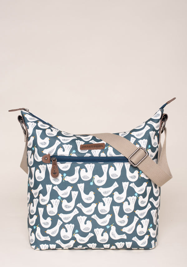 Geo Birds Hobo Bag