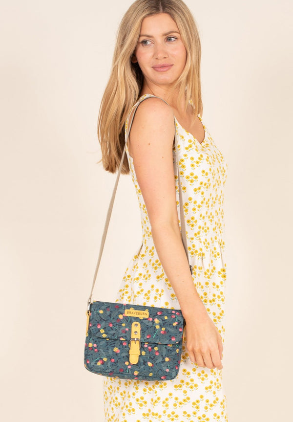 Summer Berry Roo Pouch Cross Body Bag