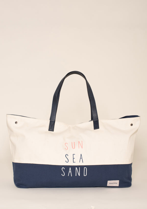 Sun Sea Sand Beach Bag