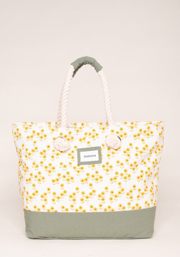 Garden Flower Beach Bag
